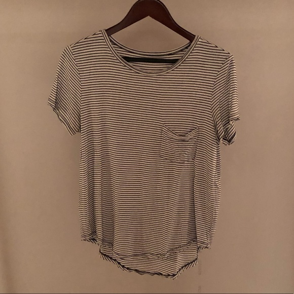 (3 for $40)Stripped American eagle top